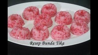 Resep Kue Cantik Manis Sagu Mutiara HunKwe Lembut dan Manis