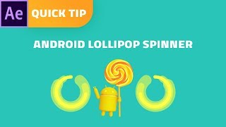Android Lollipop loading animation - After Effects tutorial [Quick and Easy]