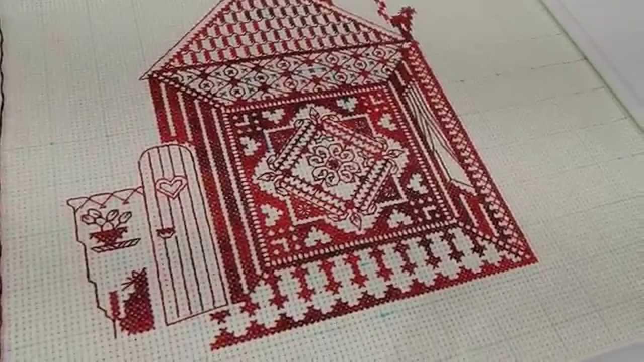 Вышивка крестом домашний очаг