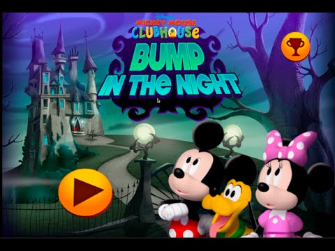 disney mickey mouse bump in the night club house disney children games free online games - Childrens Games Free Disney