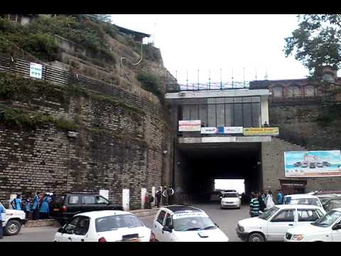 View Of New Auckland Tunnel Shimla
