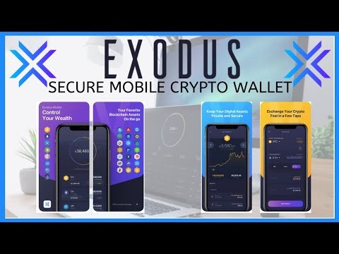 Exodus Cryptocurrency Mobile Wallet Tutorial 2019