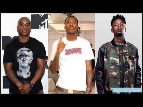 Charlemagne Raps All of 21 Savage Lyrics & Says 21 Savage Smashed his Verse on Meek Mill's DC4!