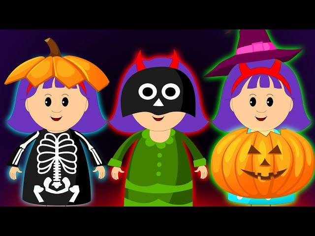 Halloween Costumes for Kids   Halloween Songs by KidsCamp