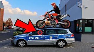 5 Verfolgungsjagden mit Motorrad - auf Kamera aufgenommen