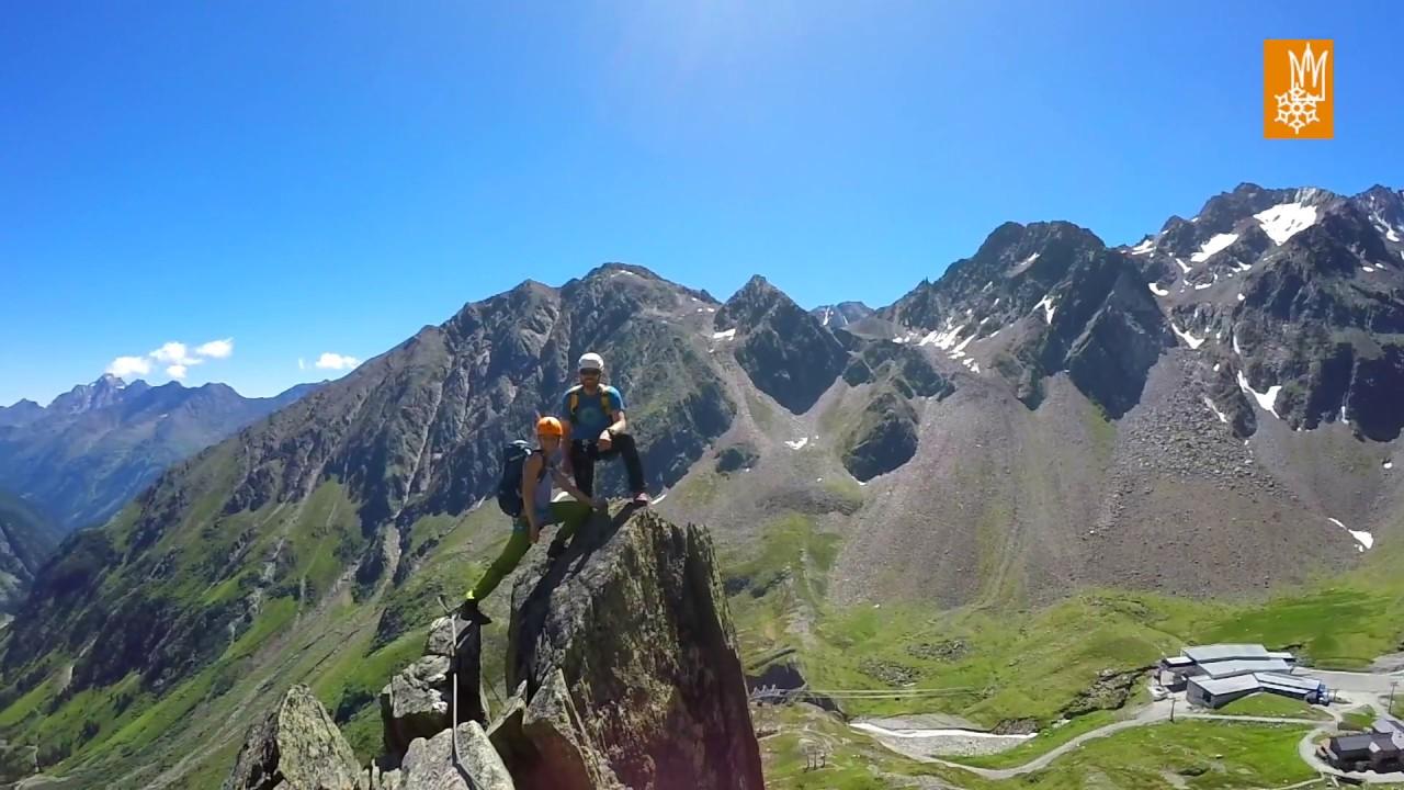 Klettergurt Für Gletscher : Klettersteig fernau am stubaier gletscher youtube