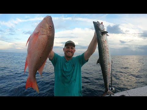 Kingfish and MUTTON {Catch Clean Cook} Grilled Snapper on the Half Shell
