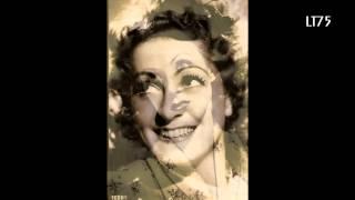 """""""Une Charade""""...Eva Busch & Wal-Berg & son Orchestre (1940)"""