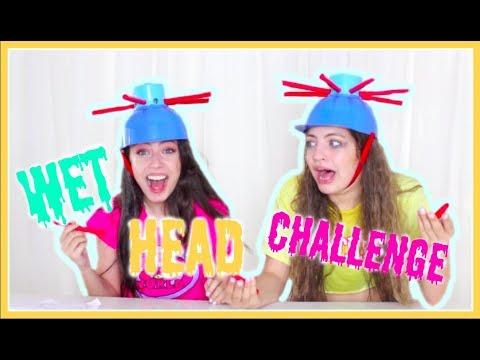 אנחנו סתומות! אתגר הכובע הרטוב😂