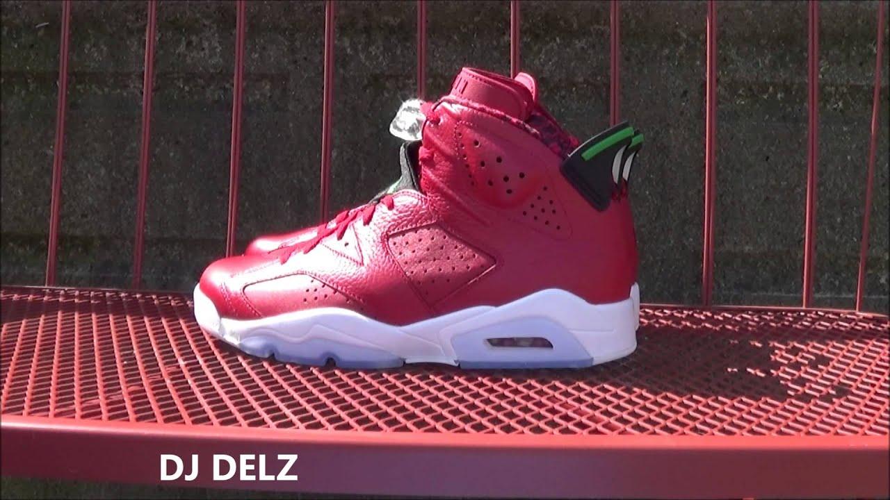 666e78222cd3 Air Jordan 6 History Of Spizike Shoe Review + On Foot + Lacelock Fix + Vlog  W  DJ Delz