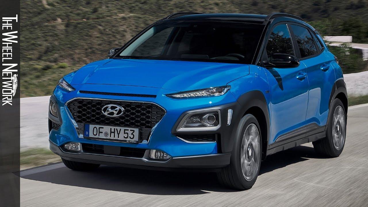2020 Hyundai Kona Hybrid Driving Interior Exterior Youtube
