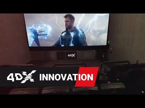 Avengers: Endgame in 4DX | Inside the Theater 360º VR
