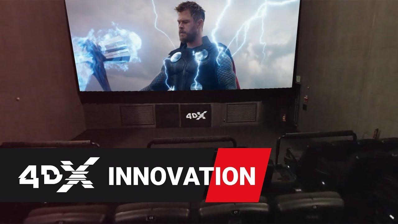 Download Avengers: Endgame in 4DX   Inside the Theater 360º VR