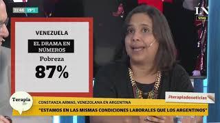Era psicóloga en Venezuela, y es remisera en Argentina tras irse del país de Maduro