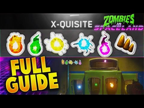 "EASY X-QUISITE CORE GUIDE! - ZOMBIES IN SPACELAND ""BATTERIES NOT INCLUDED GUIDE"" (IW ZOMBIES)"