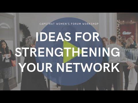 LinkedIn Strategies & Ideas for Strengthening Your Network