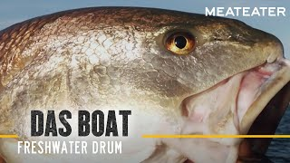Das Boat S2: E06 Freshwater Drum with Danielle Prewett and Frank Smethurst