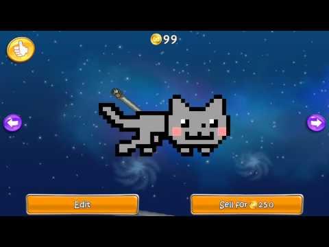 ШОК!!!  Что Nyan cat  скрывает под печенькой?!?