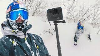 GoPro FUSION 360, MEGA POWDER DAY IN JAPAN! | VLOG² 143