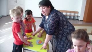 Открытый урок казахского языка в детском саду
