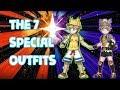 Pokémon USUM the 7 special outfits