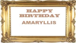 Amaryllis   Birthday Postcards & Postales - Happy Birthday