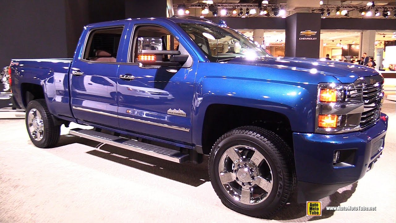 2015 Chevrlet Silverado High Country   Exterior And Interior Walkaround    2015 New York Auto Show   YouTube