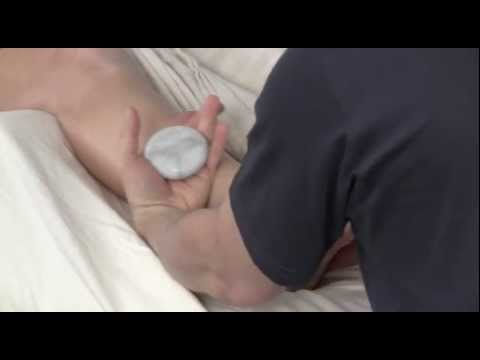 Stone Massage For The Feet Demonstration With Bruce Baltz