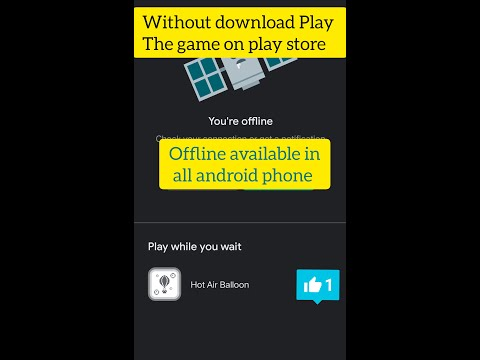 Without download Play  hot air balloon game on play store