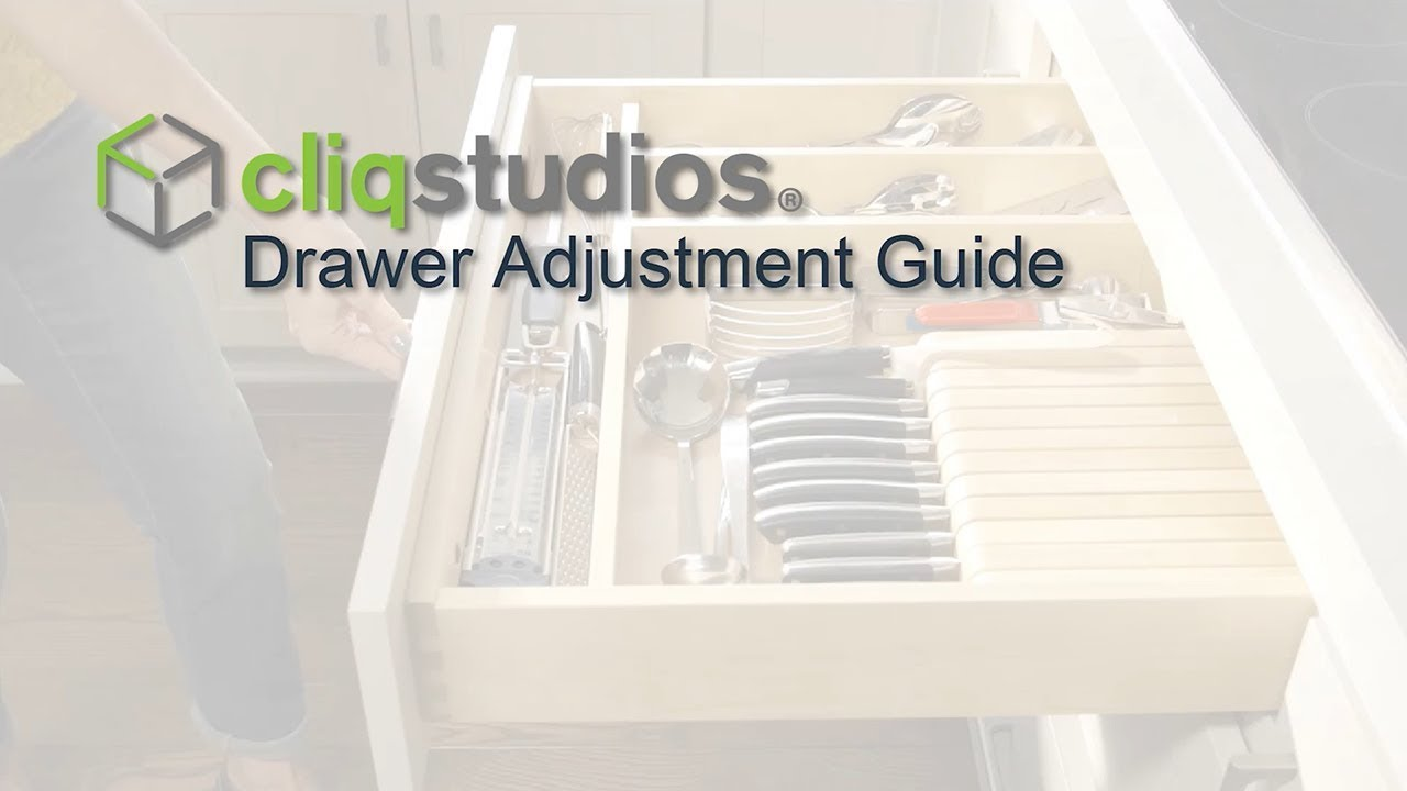 How To Adjust Cabinet Drawer Boxes U0026 Glides