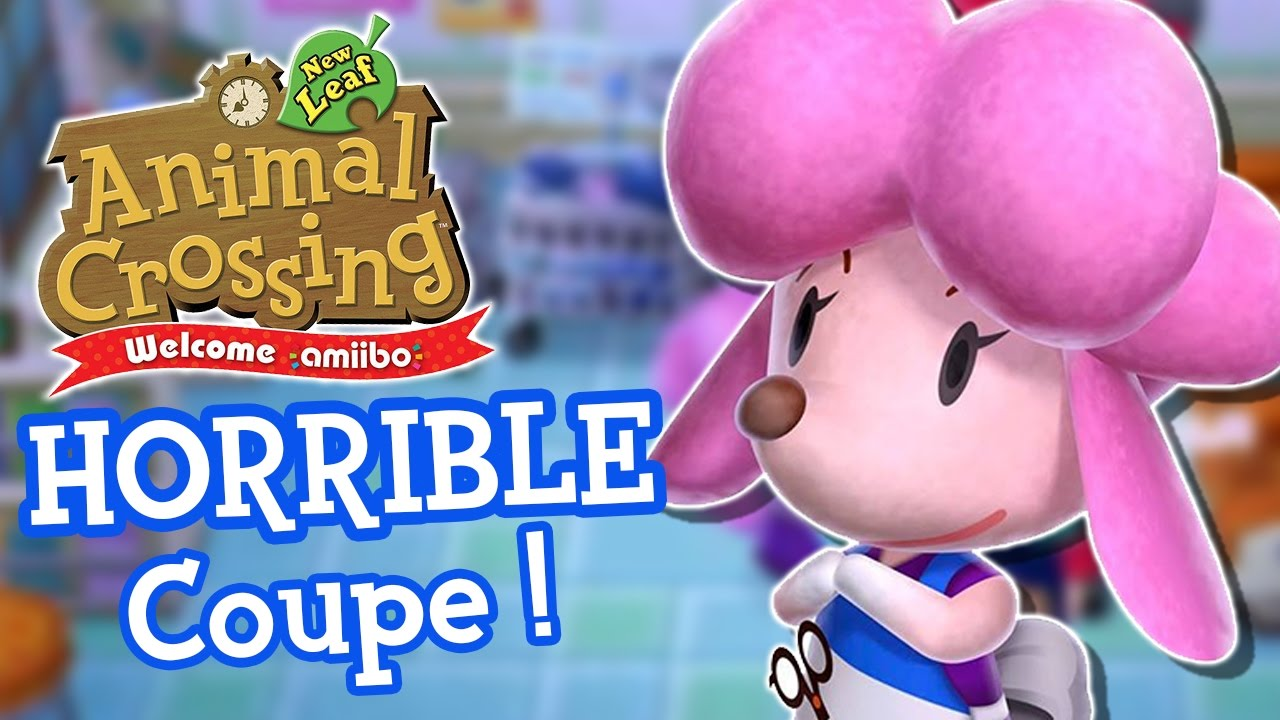 Question coiffure animal crossing new leaf votre nouveau - Animal crossing new leaf salon de coiffure ...