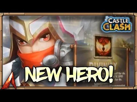 Castle Clash New Hero! Michael! The Archangel!