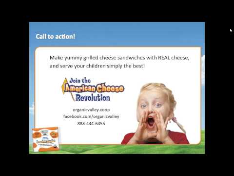 Organic Valley American Singles Moms Meet Webinar.avi