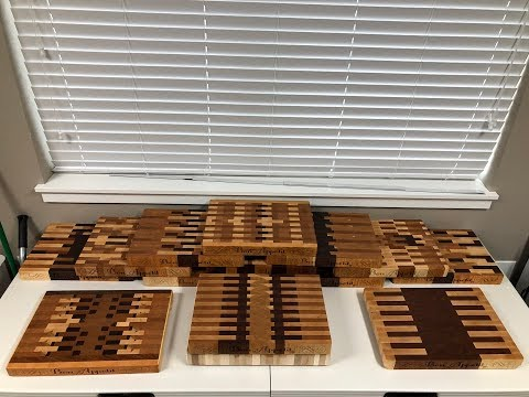 End Grain Cutting Boards | BudWoodson