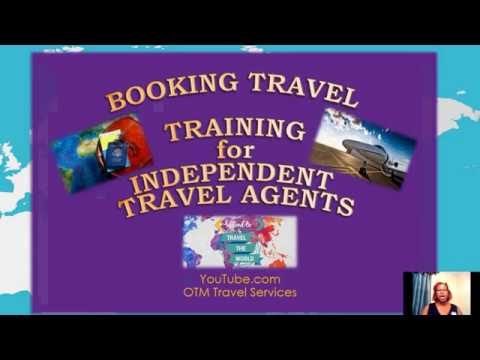 OTM Travel Services   Booking Travel Training Webinar  Jan 11th 2018   Increase Your Clientele