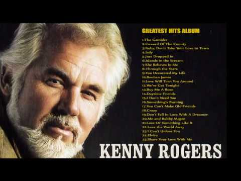 Kenny Rogers Greatest Hits Full albumBest Songs Of Kenny Rogers