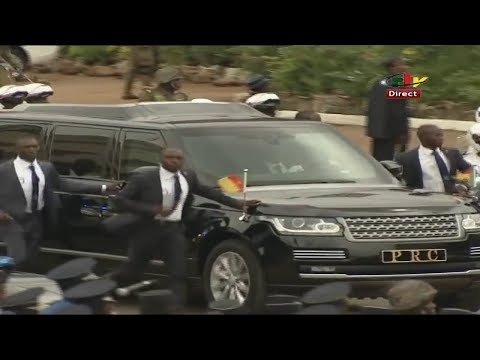 Arrival of President Paul Biya at 20th May Celebration! Watch...