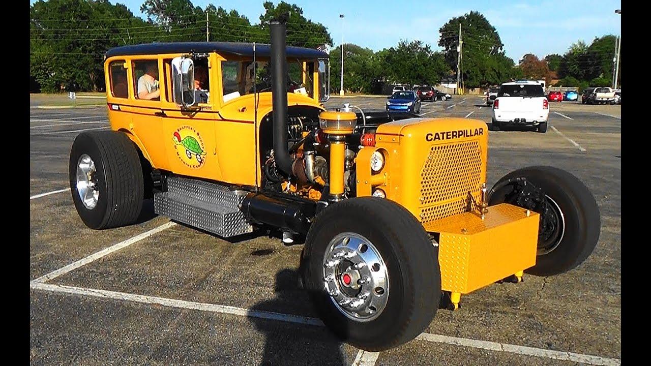Caterpillar Hot Rod Cruisin' The Coast 2015 - YouTube