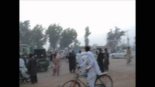 Khatak Dance after imran Khan Jalsa In Mianwali