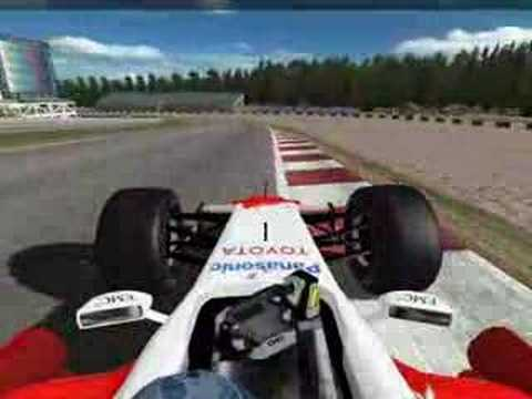 Spa Lap in netKar Pro F1 car