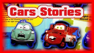 Pixar Cars Stuck On Stories with Cars from Cars and Cars 2 and New Pixar Cars Custom Idea