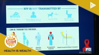 HEALTH IS WEALTH: Always Come Prepared HIV awareness campaign