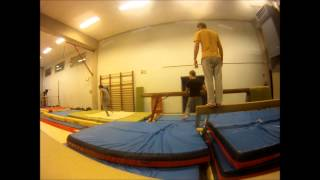Yannick, debut février, Gym / freerunning
