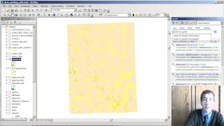 Spatial Analysis 9 of 13:  Converting Raster to Vector Data in ArcGIS