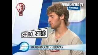 Mario Bolatti Huracan 2009 en Estudio Futbol