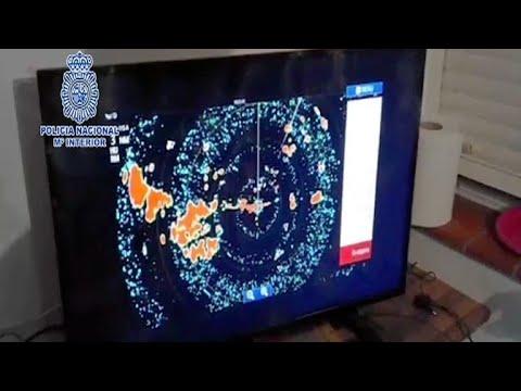 Narcos usaban sistema de radares para evadir policía en España