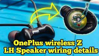 One plus wireless Z Wiring Diagram of LH speaker || Dummy line