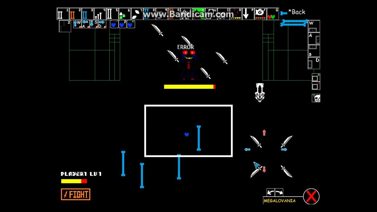 Undertale battle simulator