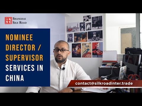 NOMINEE DIRECTOR SERVICE IN CHINA | Shanghai Silk Road