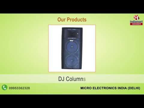 Amplifier & Speaker By Micro Electronics India, Delhi